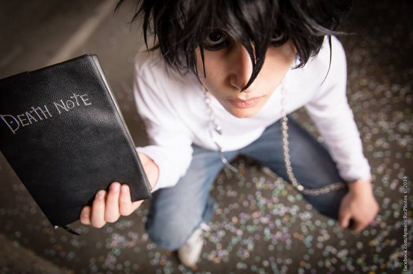 Mon cosplay de Ryuzaki de Death Note