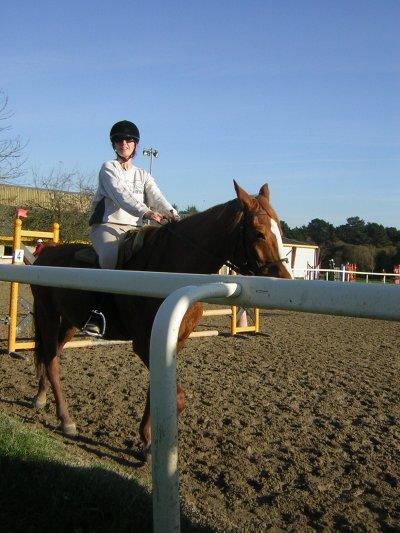 équitation , j'ai eu mon galop 3