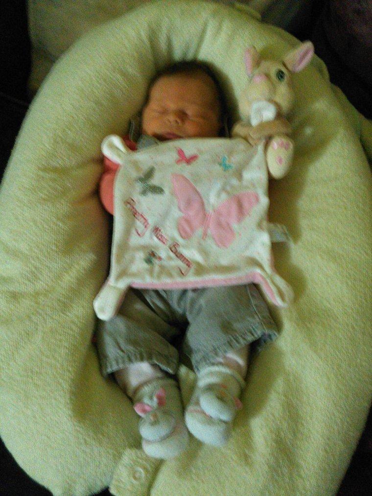 Ma petite nièce Maelys