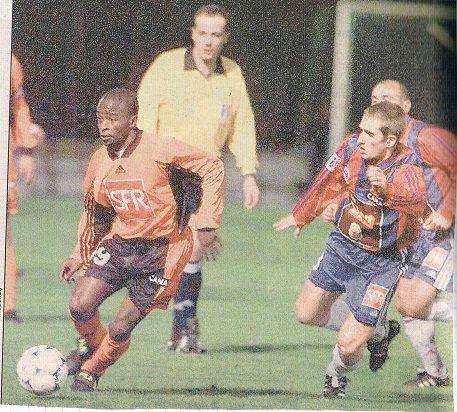 Frederic Gueguen, coupe de la ligue 1998/1999 (porté à Lorient le 09/01/99, 16ème de finale)