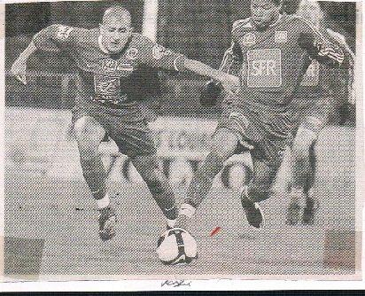 Vincent Fernandez coupe de France 2008/2009 (porté contre Saumur, 22/11/2008, 7ème tour, joueur non entré en jeu)