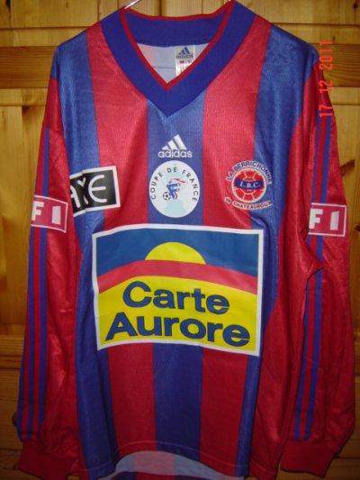 Lilian Compan coupe de France 1998/1999 (porté contre Lyon le 24/01/99, 32ème de finale)