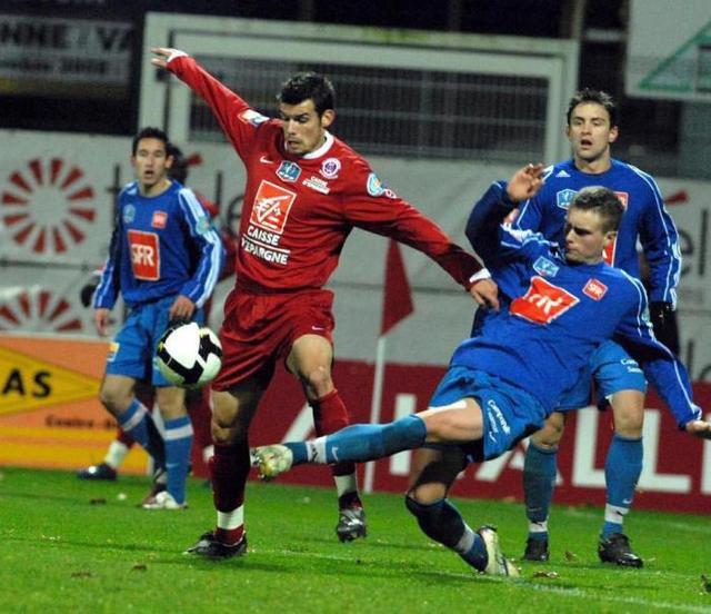 Mickael Cerielo coupe de France 2008/2009 (porté contre Saumur, 22/11/2008, 7ème tour)