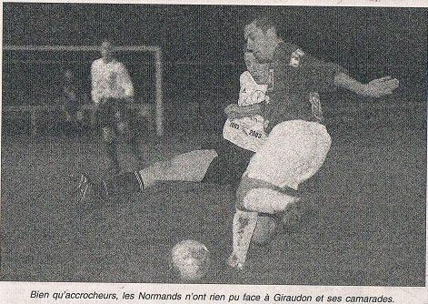 Vincent Di Bartoloméo, coupe de France 2002/2003 (porté à Vire le 23/11/2002, 7ème tour)