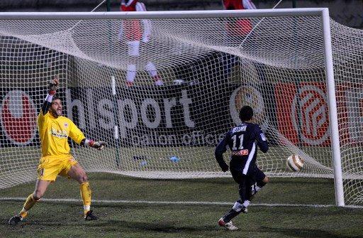 Gaetan Deneuve coupe de la ligue 2008/2009 (porté à Bordeaux, 14/01/2009, quart de finale, joueur non entré en jeu)