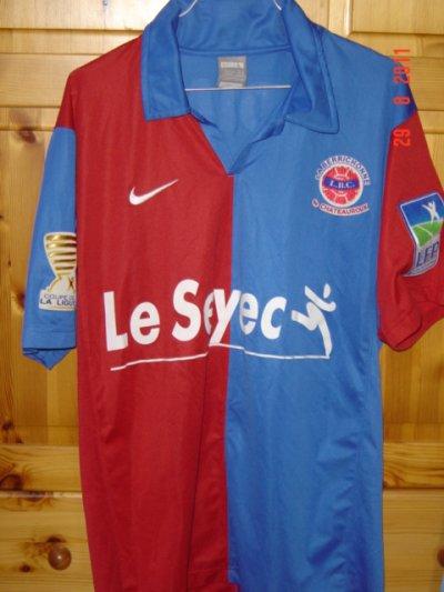 Henri Bedimo, coupe de la ligue 2009/2010 (porté contre Clermont le 01/08/2009, 1er tour)