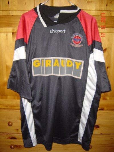 réserve (gardien) 1996/1997