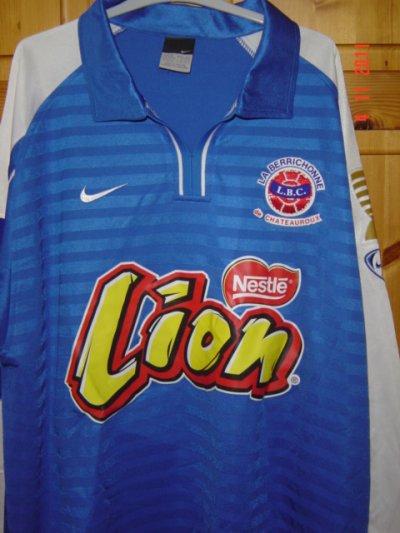 coupe de la ligue 2004/2005 (préparé contre Laval, 06/10/2004, 1er tour)