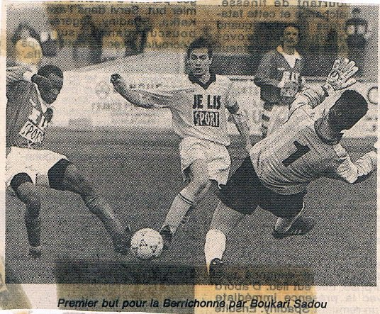 Thierry Bacconnier coupe de France 1990/1991