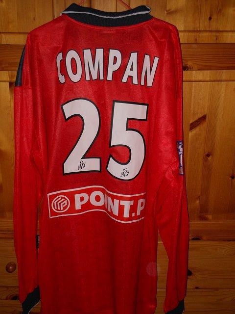 Lilian Compan coupe de la ligue 2001/2002 (porté à Nancy, 16/01/2002, 8ème de finale)