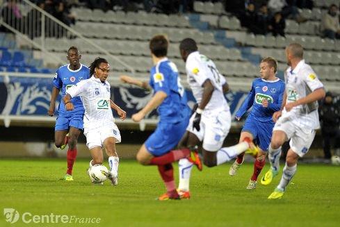 Romain Inez coupe de France 2011/2012 (à Auxerre, 16ème de finale 21/01/2012, joueur non entré en jeu)