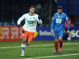 Romain Inez coupe de France 2011/2012 (contre Montpellier, 8ème de finale 08/02/2012, joueur non entré en jeu)