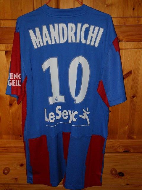 Jean Jacques Mandrichi 2011/2012 (porté contre Reims le 02/03/2012)