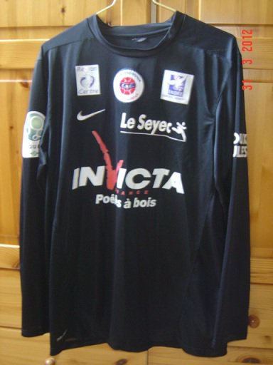 Vincent Fernandez 2011/2012 (porté contre Amiens le 30/03/2012)