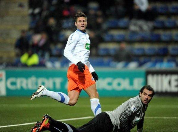 Vincent Fernandez, coupe de France 2011/2012 (porté contre Montpellier, 8ème de finale le 08/02/2012)
