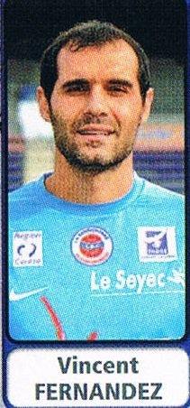Vincent Fernandez 2011/2012 (porté contre Le Havre le 16/03/2012)