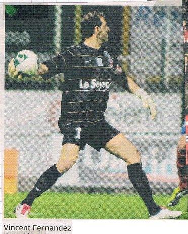 Vincent Fernandez 2010/2011