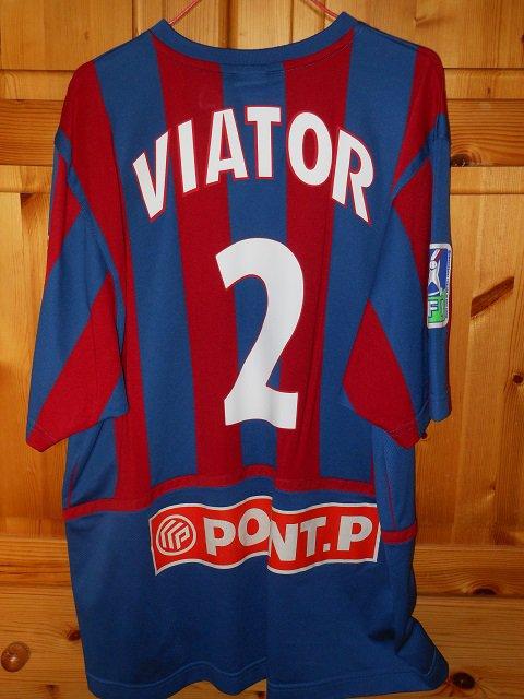 Eddy Viator, coupe de la ligue 2005/2006 (porté contre Brest le 20/09/2005, 1er tour)