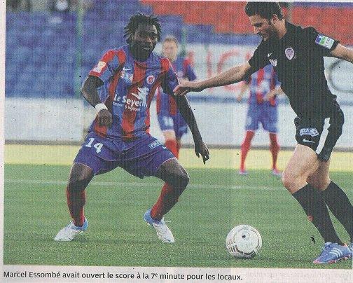Rémi Fournier, coupe de la ligue 2012/2013 (porté contre Dijon le 07/08/2012, 1er tour)