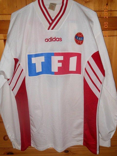 Bruno Roux, coupe de France 1995/1996 (porté contre Gazelec Ajaccio le 17/12/1995, 8ème tour)