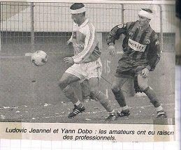 Stéphane Laquait, coupe de France 2001/2002 (porté à Libourne Saint Seurin le 09/02/2002, 8ème de finale)