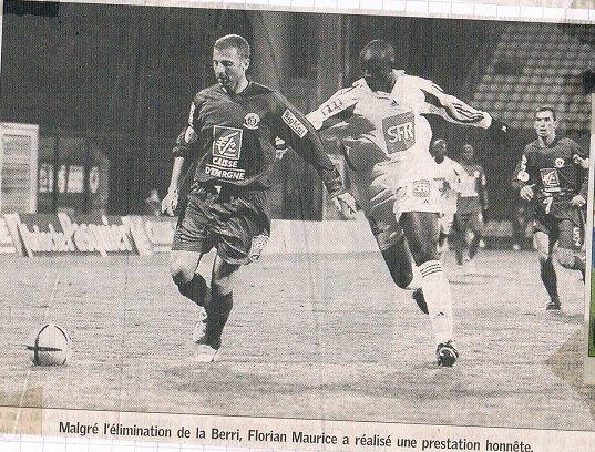 Patricio D'Amico, coupe de France 2004/2005 (porté contre Grenoble le 07/01/2005, 32ème de finale)