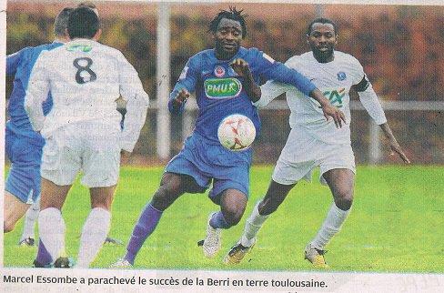 Kevin Afougou coupe de France 2012/2013 (porté à Toulouse Rodeo, 7ème tour le 18/11/2012)