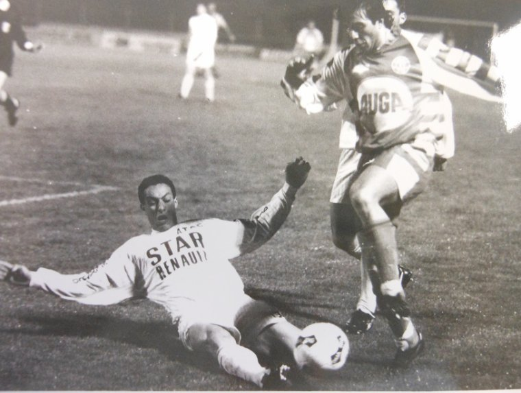 Stéphane Moulin 1990/1991