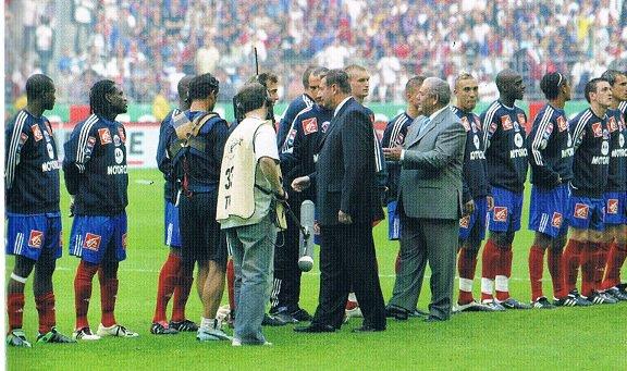 Sebastien Roudet coupe de France 2003/2004 (sweat porté lors de la finale contre le PSG le 29/05/2004)