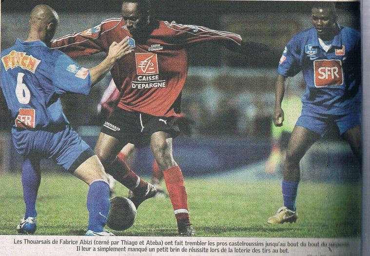 Vincent Fernandez coupe de France 2007/2008 (porté à Thouars le 24/11/2007, 7ème tour)