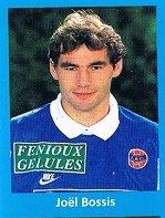 Joël Bossis, coupe de France 1995/1996