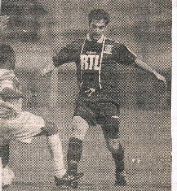 Joël Bossis, coupe de France 1994/95, porté à Marseille le 17/03/95, quart de finale