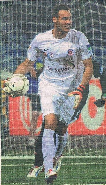 Jonathan Millieras coupe de la ligue 2012/2013 (porté contre Dijon, 07/08/2012, 1er tour, joueur resté sur le banc)