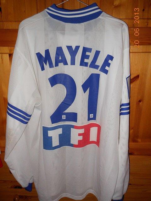 Jason Mayélé, coupe de la ligue 1996/1997, 16ème de finale à Bordeaux le 11/12/1996