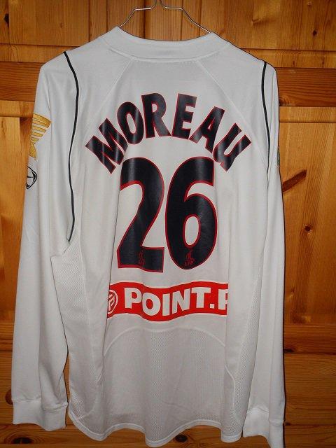 Patrick Moreau, coupe de la ligue 2005/2006 (porté à Nice le 26/10/2005, 16ème de finale)