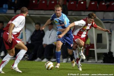Eddy Viator, coupe de la ligue 2007/2008 (porté au Havre le 28/08/2007, 2ème tour)