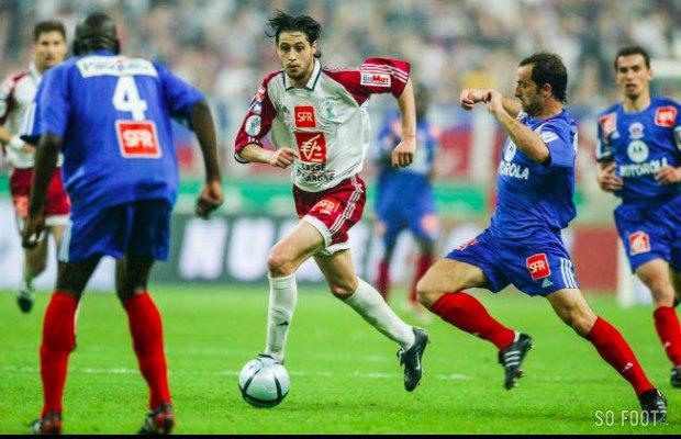 Eddy Viator, coupe de France 2003/2004 (porté en finale contre le PSG le 29/05/2004)