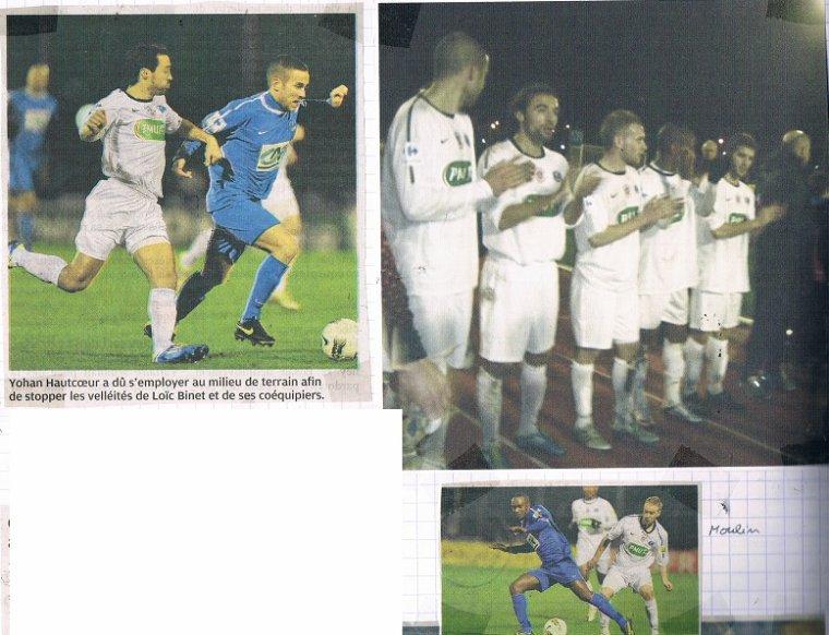 Claudio Beauvue, coupe de France 2011/2012, 32ème de finale à Cherbourg le 07/01/12