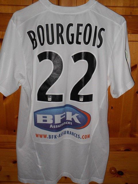 Maxime Bourgeois 2013/2014 (porté à Lens le 23/11/2013)