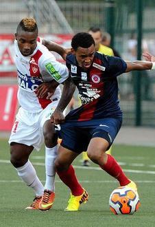 Kevin Afougou 2013/2014 (porté contre Dijon le 20/12/2013)