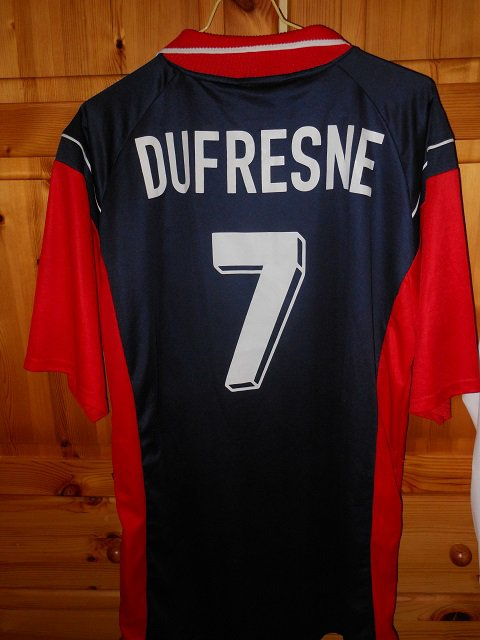 Laurent Dufresne 2000/2001