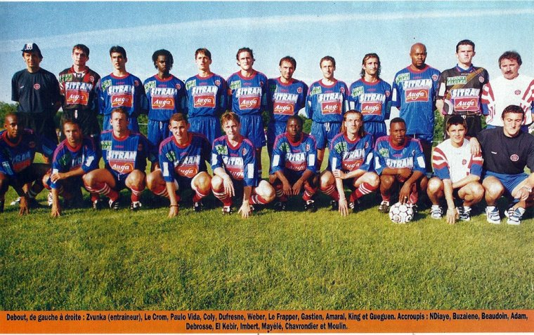 match amical d'avant saison, 1996/1997