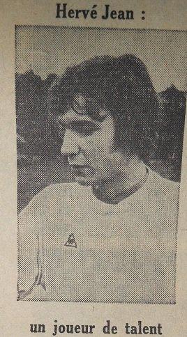 Hervé Jean 1972/1973
