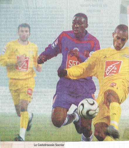 Razak Boukari, coupe de France 2005/2006