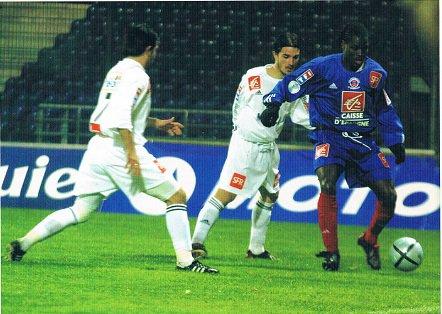 Eddy Viator, coupe de France 2003/2004 (porté en 8ème de finale contre Créteil le 11/02/2004)