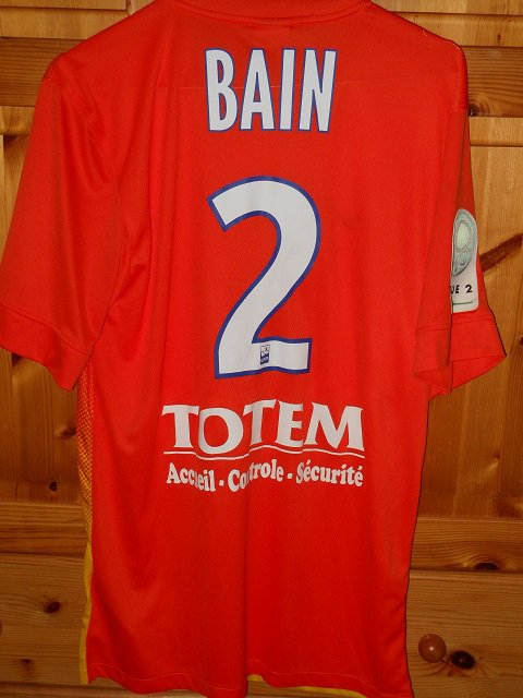 Denys Bain, 2013/2014, porté à Tours le 25/01/2014