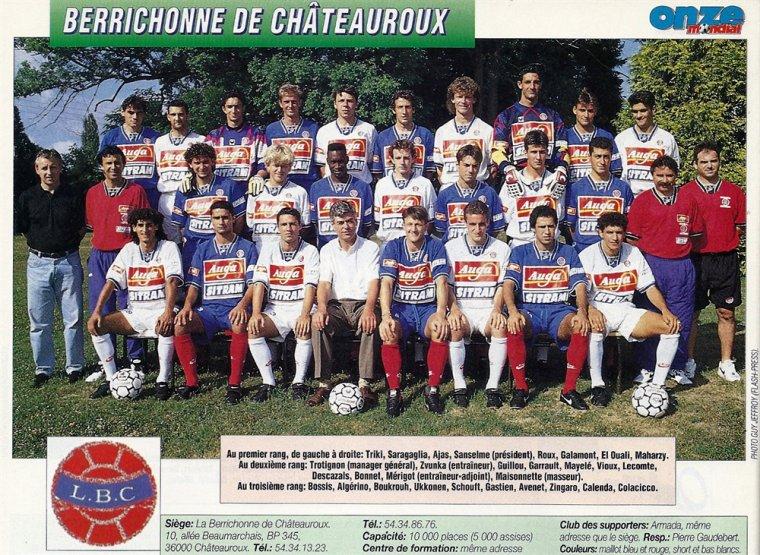 Franck Zingaro 1994/1995