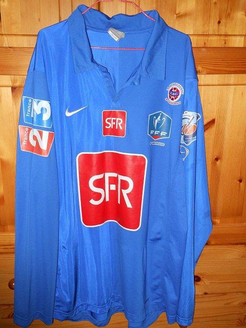 Guilherme Mauricio, 2007/2008, porté à Niort, 8ème tour de coupe de France le 14/12/2007