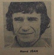 Hervé Jean, survêtement 1974/1975
