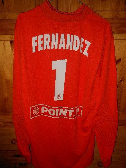 Vincent Fernandez, coupe de la ligue 2009/2010 (porté contre Clermont le 01/08/2009, 1er tour)